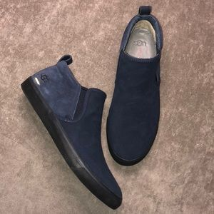 NIB Ugg Kemp slip on sneaker navy blue Sz 10.5